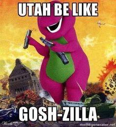 Haha love this. Love Utah