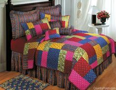 Scenery+Quilts | cara quilt cara quilt skip the coffee our bright energized cara quilt ...