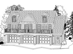Plan 039G-0001 - Garage Plans and Garage Blue Prints from The ...