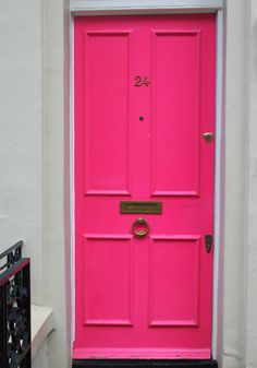Portas Coloridas - Rosa!