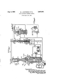 Patent US2647493 - Fluid actuated governor control - Google Patents