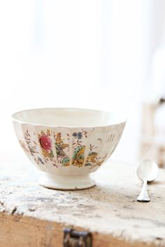 Vintage French Cafe Au Lait Bowl.