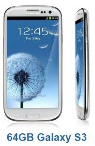 Samsung Plans 64GB Samsung Galaxy S3 To Launch in UK Market