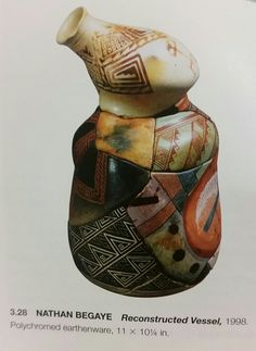 Nathan Begaye  reconstructed vessel