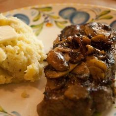 This recipe uses a rib eye steak, which I think gives you the best combination of good marbling, tenderness, and flavor; although feel free to experiment with other cuts. Thickness of the steak; however, is very important… a minimum of one inch. Well, you ready… Let's get into the kitchen.