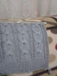 Sıralı Balık Örgü Modeli Pregnancy First, Pregnancy Trimesters Knitting Stiches, Easy Knitting Patterns, Knitting Charts, Baby Knitting, Stitch Patterns, Crochet Patterns, Crochet Motifs, Hand Crochet, Crochet Stitches