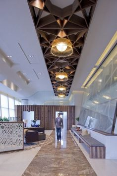 Modern and Refined Passanger Lounge in Biggin Hill Airport, London - http://freshome.com/2011/08/18/modern-and-refined-passanger-lounge-in-biggin-hill-airport-london/