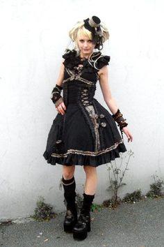 next yrs Halloween Costume? steam punk princess