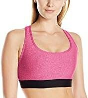 8f2f87976 Hanes Sport Women s Compression Racerback Sports Bra Cool Comfort fabric  wicks away sweat to keep you comfortable Wire free compression styling ...