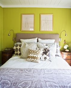 Jacquard Leaf Shams from west elm via @Gilda Anderson Anderson Locicero Therapy