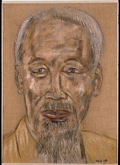 leon golub | Leon Golub, Hoi Chi Minh, 1967 | Leon Golub, 1922 - 2004 | Pinterest