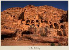 The Treasury or al-Khazneh at Petra in Jordan