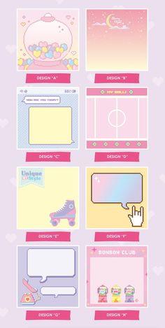 MEMO PAD 8 Designs Colorful Memo Memopad Notepad | Etsy Korean Stationery, Kawaii Stationery, Printable Planner, Planner Stickers, Printables, Journal Stickers, Instax Mini Album, Memo Notepad, Card Book