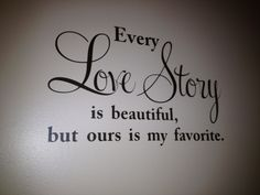 """Wall Decal Quote Vinyl Wall Decor Love Quote 12x24"""""""