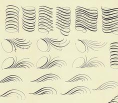 английский курсив каллиграфия упражнения: 14 тыс изображений найдено в Яндекс.Картинках