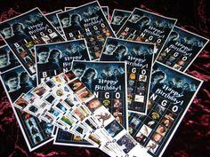 Potter Frenchy Party - Activité : une partie de bingo avec Harry Potter - bingo game - Harry Potter diy