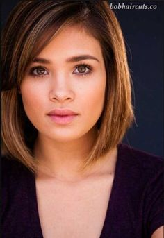 15 Best Bob Haircuts for Round Faces - 9 #BobHaircuts