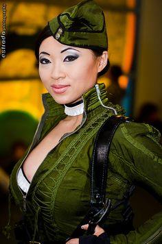 Yaya Han again as Suker Punch's Amber.     #SDCC2012  #CosplayDoneRight #Cosplay by The.Erik.Estrada, via Flickr