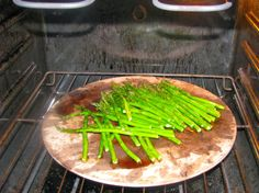 "If you're roasting Veggies - try roasting them on a Pizza Stone. The high, dry surface will make them nice and crisp. Great for asparagus, cauliflower, even potatoes. Pretty soon you'll be calling it your ""Veggie Stone""   Warning - Don't roast Beets... the pink stain will be VERY permanent lol"