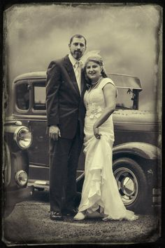 Vintage wedding portrait Vanstry Photography Springfield, MO