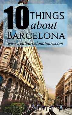 Barcelona, as any destination, has its own rules, culture and peculiarities. If you are planning to visit the city for the first time, our 10 things to know about Barcelona will help you out in more than one occasion!