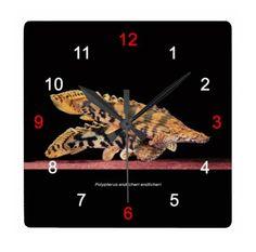 エンドリ・ショートタイプの壁掛け時計
