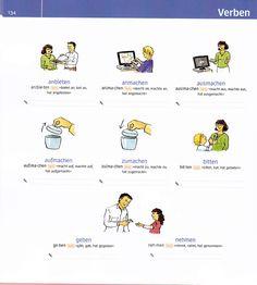Bildwörterbuch: Verben