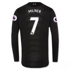 081c05ee183 Liverpool 16-17 James Milner 7 Bortatröja Långärmad  Fotbollströjor