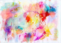 Berengere Ducoms watercolors 's experiment.