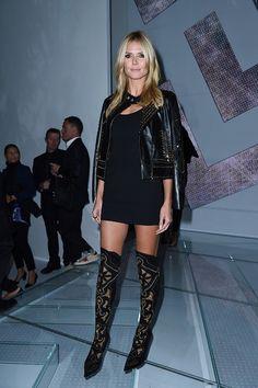 Heidi Klum in Versace.