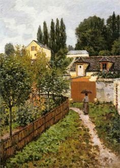 Garden Path in Louveciennes (Chemin de l Etarch), 1873  Alfred Sisley