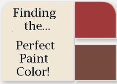 How to Find Your Perfect Paint Color!     (Tutorial, DIY, craft, frugal, design, decor)