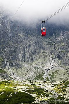Cable Car In Slovakia, High Tatras Stock Image - Image of majestic, hike: 18514303 Best Hotel Deals, Best Hotels, Countries Europe, European Countries, High Tatras, Tatra Mountains, Heart Of Europe, Bratislava, The Great Outdoors