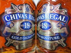 Chivas Regal Aged 18 Years Blended Scotch Whisky Gold Signature