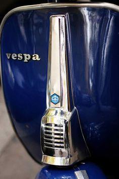 Rockin' metallica on Mateo's Vespa
