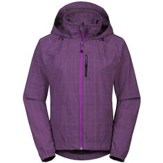 The North Face Snake Wind Jacket - UPF 30 (For Women) in Magic Magenta