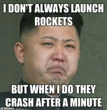 The worst leader and the worst rocket builder