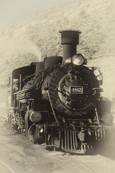 Old Steam Locomotive Photograph by George Oze