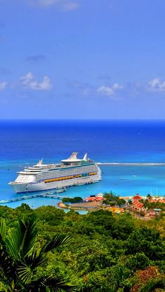 Cruise Ship in Jamaica Cruise Travel, Cruise Vacation, Vacation Spots, Vacations, Honeymoon Trip, Cruise Specials, Cruise Pictures, Island Life, Places To See