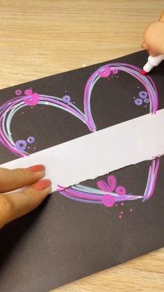 Inspirational Phone Wallpaper, Heart Outline, Medical Design, Bullet Journal School, Paper Crafts Origami, Heart Crafts, Ideas Para Fiestas, Barbie, Easy Drawings