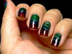 Esmaltes da Kelly: Gradient Nails, Magnetics