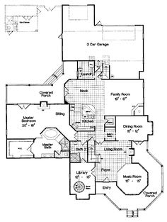 images about House plans on Pinterest   Home plans  Queen    Floor Plan