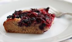 Frozen Berry Cobbler with Whole Wheat Flour and Coconut Oil