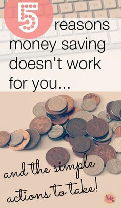 money saving doesn't work for me