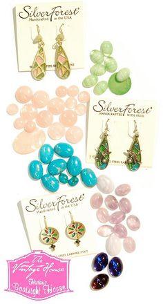 Silver Forest Earrings Accessories Usa Wearable Art Wardrobe Ideas