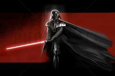 Star Wars - Darth Vader Red - Wall Mural & Photo Wallpaper - Photowall