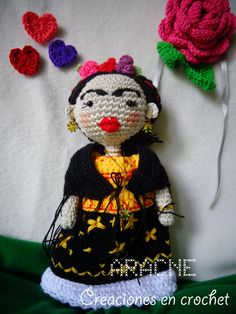 Amigurumi Monster Free Pattern : 1000+ images about My Girl Frida. on Pinterest Frida ...