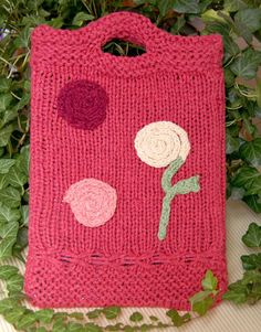 Free Knitting Pattern - Phone, Tablet & Laptop Covers: Classic Silk iPad Sleeve