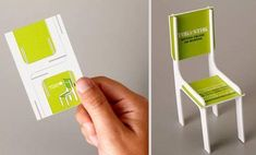 Are you looking for business card inspiration? Here are 25 most creative business cards. Id Card Design, Design Design, Design Layouts, Cover Design, Logo Design, Design Ideas, Paper Toy, Bussiness Card, Unique Business Cards
