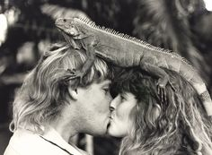 Steve and Terri Irwin. Today would have been their 25th wedding anniversary 1992